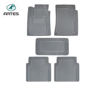 Best No Bad Smell Custom Fit Car Mats , Grey Color Custom Auto Floor Mats wholesale