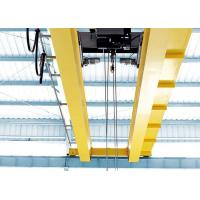 China Pendent / Remote Control Material Handling Equipment Double Girder Industrial Electric Hoist 2 ton 5 ton to 80 ton on sale