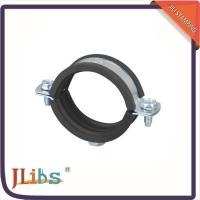 Quality M8 Welded Nut Galvanised Pipe Clamps , Galvanized Pipe Hangers 2 Bone Surface wholesale
