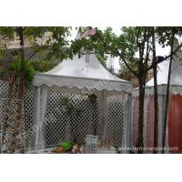 Quality Aluminum Framed High Peak Tent Rentals Available with or without Fabric Wall wholesale