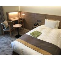 China Comfortable Budget Hotel Apartment Furniture Sets With Plywood Panel Japanese Style on sale