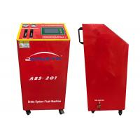 Best 150W DC12V Flush Machine Red Color Four Wheels Change Oil At The Same Time wholesale