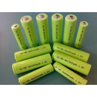 Quality Green 1.2V DVD NIMH Rechargeable Battery AA 2700mAh With ROHS wholesale