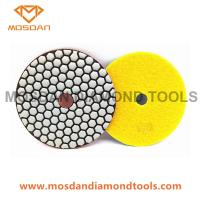 Best 125mm Resin Dry Polishing Pads for Marble Terrazzo Limestone wholesale