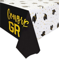 Best PEVA Gravure Printing Graduation Party Tablecloth Oilproof Rectangle wholesale