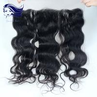 Best Brazilian Hair Lace Front Closures With Bangs Ear To Ear Lace Frontal wholesale