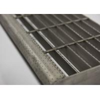 Best Composite Galvanised Steel Steps, Metal Step TreadsWith  Checkered Plate wholesale