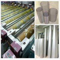 Best Wax Printing Textile Machinery Spare Parts Rotary Screen High Utilization Ratio wholesale