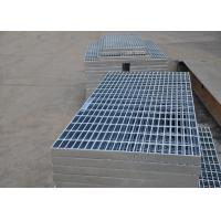 Cheap 32 X 5mm Steel Walkway Grating , Flat Hot Dipped Galvanised Steel Grating for sale