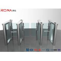 Best Automatic Flap Barrier Speed Gate Turnstile Access Control System 304 Stainless Steel wholesale