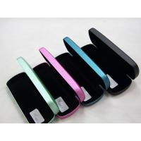 Best Portable Stitched Metal Optical Glasses Case , Personalised Hard Glasses Case wholesale