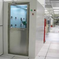 Best Cold Rolled Plate Cleanroom Air Shower Automatic Single / Double Door wholesale