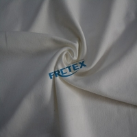 China White Cotton Water Oil Repellent Antiacids Alkali Resistance Knitted Fabric on sale
