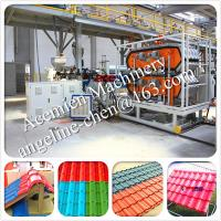 Best New design High technolody, factory and house used plastic PVC roof tile making machine wholesale
