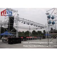 Durable Lightweight Lighting Truss 400mmX400mm Size Strong Loading Capability