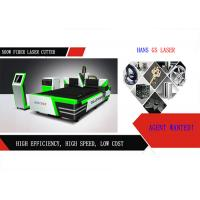 Quality 500W / 1000W Metal Laser Cutting Machine For Kitchen Ware , CNC Control System wholesale