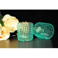 Best Color Sprayed Glass Tealight Candle Holders / Glass Candlestick Holders wholesale