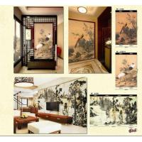 Buy cheap Customised Wallpaper Mural,Chinese Art,ASL81089-81090 from wholesalers