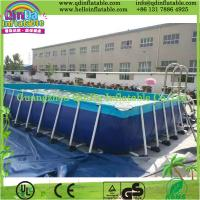 Details Of Above Ground Swimming Pool Metal Frame Pool 105746846