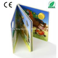 Best 37mm Round Sound Module For Baby Sound Books , Educational Board Book baby wholesale
