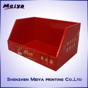 Best Store Retailed Snacks Cardboard Counter Display , Custom decorative cardboard boxes Printed wholesale