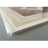Cheap Light Weight Pvc Wall Tile Panels , Suspended Ceiling Tiles For Bathrooms for sale