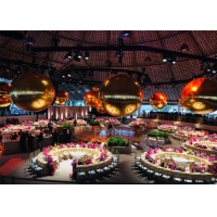 Buy cheap Advertising Large Decorative Mirrors Inflatable Mirror Ball Colorful Mirror from wholesalers
