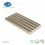 Best 0.236 Inch * 0.157 Inch N42 Custom Neodymium Magnets Nickel Copper Nickel Coating wholesale