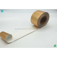 China Oil Proof Embossed Tobacco 85mm Aluminium Foil Paper on sale
