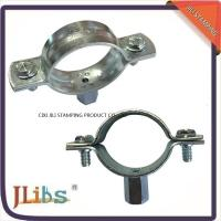 Best Carbon Steel Material Galvanized Pipe Clamp Fittings Standoff Pipe Clamps wholesale