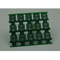 Best RoHS HASL 4 Layer Rigid PCB Board Fabrication Finish Green Solder Mask wholesale