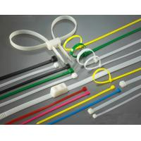 Best High Load PA66 Material Nylon Zip Ties Self-Locking Type UV Stabilized wholesale