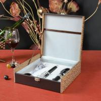 China Four-Pieces Wine Opener with New Wine Pourer Set on sale
