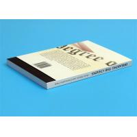 Best Softcover Book Novel Book Printing Services , Glue Sewing Binding By Automatic Binder wholesale