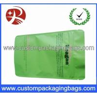 Best Green PET / AL / PE Aluminium Foil Ziplock Coffee Bag Packaging with Stand up wholesale