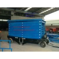 Buy cheap 20m Height Mobile Hydraulic Scissor Work Lift Table from wholesalers