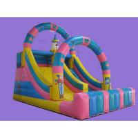 Best Popular Commercial Inflatable Sports Game , Double Line , Giant Slide Toys wholesale