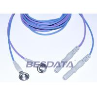 Best Din 1.5 Colorful TPU EEG cup electrodes with AgCl Plated Cup ,1.5m Brain Wires wholesale