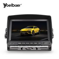 Best HD Touchscreen Car Monitor 1024*600 AHD Monitor 7 Inch MDVR Recording 9-35V wholesale