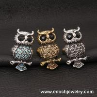 Best Wholesale Metal Various Design Punk Vintage Style owl ring wholesale