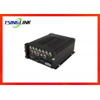 Best Wireless 8 Channel Mobile NVR , 4G DVR Video Recorder For Car Bus wholesale