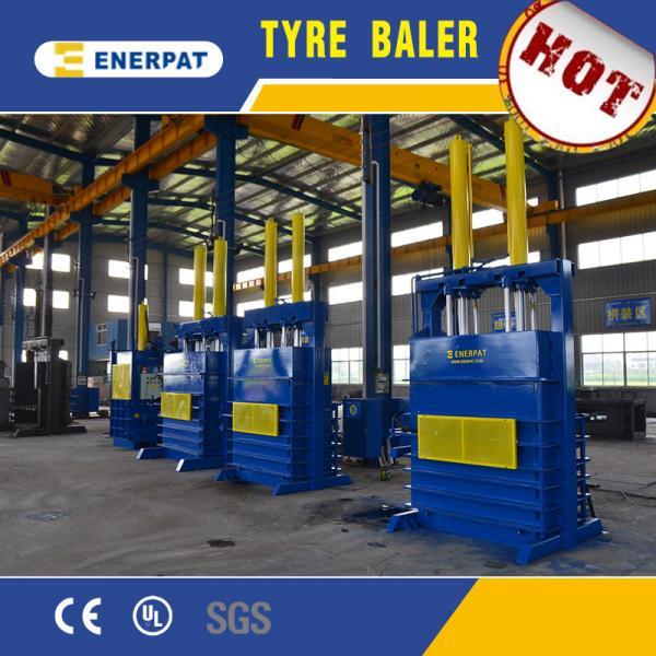 Details of Scrap tire bale press machine hydraulic scrap tire baling press Hydraulic scrap tire ...