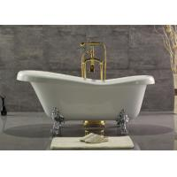 Best Acrylic Double Ended Clawfoot Tub , Freestanding Clawfoot Tub Roll Top wholesale
