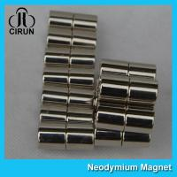 Long Life N40H Neodymium Permanent Magnets Cylinder For Medical Products
