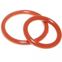 Best Aging Resistant Silicone Rubber O Rings Seal Gasket Food Grade For Customized Request wholesale
