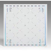 Cheap Hot Stamping Surface PVC Ceiling Tiles Flat Board Type Environmental Material for sale