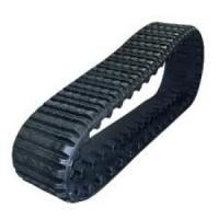 Black Color with Iron Core Anti-Vibration Rubber Track  381-101.6-42 for Cat257b