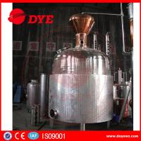 Best Customized Hybrid Alcohol Commercial Distilling Equipment Beautiful Apperance wholesale