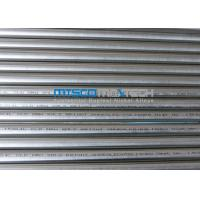 China TP304 / 1.4301 ASTM A269 Stainless Steel Round Tube 14 / 16 / 18SWG , PE End Cut on sale