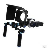 Best DSLR Rig Set Movie Kit withshoulder mount rig Matte Box And follow focus wholesale